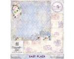 """East Plaza 30,48x30,48cm (12""""x12"""")"""