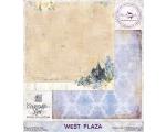 """West Plaza 30,48x30,48cm (12""""x12"""")"""
